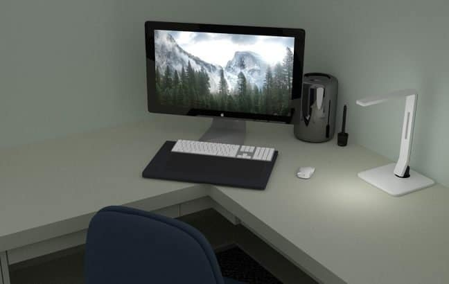 Minimalist L Shaped Desk