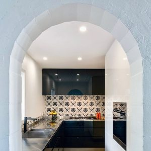 small kitchen by Kitchens by Design